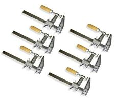 "Set of 6 - 18"" BAR CLAMPS Quick Release Heavy Duty Woodworking Carpenter Tool"