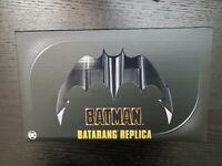 NECA Batman 1989 Movie Batarang Rplica w/ Stand Walmart Exclusive in Hand New