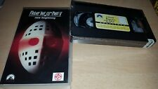 Friday the 13th Part 5 - A new Beginning - uncut NL Tape - Neu & OVP VHS - ab 18