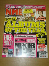 NME 2006 DEC 9 GREEN DAY WOLFMOTHER KASABIAN OASIS