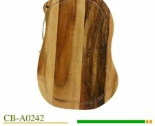 Eco-Friendly Chopping Board Acacia Wood Cutting Block Kitchen Cookware Accessory
