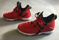 Nike Boy Lebron 14 XIV GS Basketball Shoes HD3 University Red 859468-600 US:6.5Y