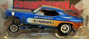 NEW & IN STOCK 1972 Don Schumacher STARDUST Barracuda NHRA Funny Car 1/18 AW1179