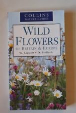 BOOK-Wild Flowers of Britain and Europe,Wolfgang Lippert