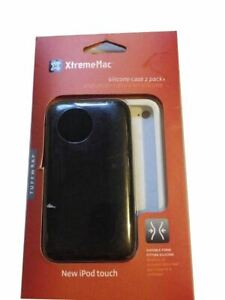 ✅XtremeMac Tuffwrap Case For Apple iPod touch 4G 2 Pack Black White 02289 SEALED