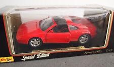Maisto Special Edition 1990 Ferrari 348-ts 1:18 Scale Diecast Car Model