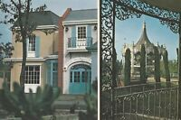 """*Louisiana Postcard-""""Orleans Place""""  /Visit to Old South & Wrought Iron/"""