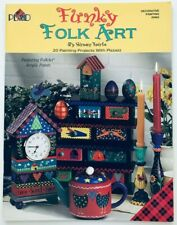 Funky Folk Art by Susan Fouts Decorative Whimsical Tole Painting Pattern Book