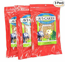 NEW (3 Pack) Lafeber'S Classic Avi-Cakes For Parrots
