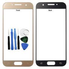 Pour Samsung Galaxy A3 2017 Front Outer Verre Écran Lens Cover Or A320 + Tools