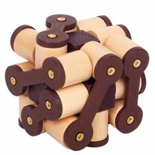 Luban Lock Toys Wooden Puzzle Game Educational Brain Training Decompression Toys
