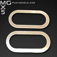 MAZDA MK1 EUNOS MX5 STAINLESS STEEL DOOR HANDLE SURROUNDS