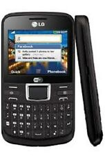 LG C195N GSM UNLOCKED CELL PHONE FIDO ROGERS CHATR QWERTY KEYBOARD CAMERA