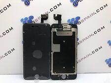 Pantalla ORIGINAL LCD+Tactil iPhone 6S NEGRA CHASIS +Altavoz+Cámara frontal 24H