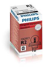 PHILIPS 24 V 55/50W R2 P45t-41 Qtà 10 LAMPADINA DEL FARO, Mercedes, Iveco, Uomo