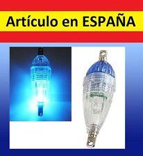 Mini luz AZUL led PESCA boya flotante luces waterproof sumergible caña boya