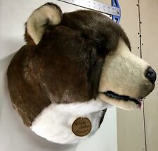 Large Brown Bear Head - Faux Taxidermy - Deco/Wall Hangings - Animal Heads