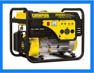 Champion Generator For RV Or Home 4500 Peak Watts, 3650 Running Wats NEW Sealed