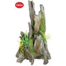"Classic Driftwood Pinnacle 11"" Aquarium Fish Ornament"