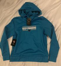 Women's Carolina Panthers Nike Blue Local Pullover Hoodie NWT Medium M