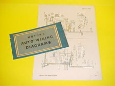 1950 1951 1952 1953 1954 1955 1956 willys jeep station wagon car wiring  diagrams