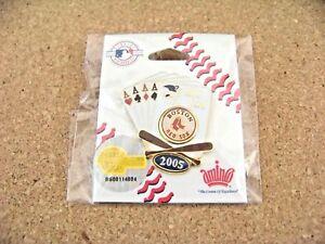 2005 Boston Red Sox A.L. Wild Card lapel pin