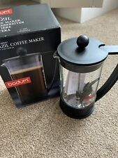 Bodum Brazil 8 Cup 1 Litre Cafetiere Black Lid & Handle Brand New Never Used