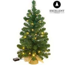Kerstboom Excellent Trees® LED Jarbo Green 90 cm met verlichting