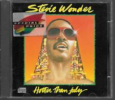 CD ALBUM 10 TITRES--STEVIE WONDER--HOTTER THAN JULY--1980