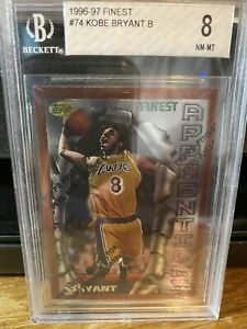 1996 Finest KOBE BRYANT Rookie With Coating  BGS 8 PSA ?