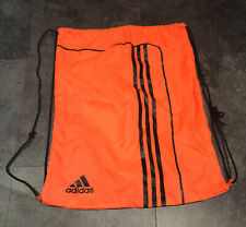 Adidas Orange Draw String Sports Swim Bag