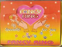 Garfield Fancy Rings Children's 72 Rings New In Display Box