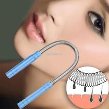 New PP Grip U Shape Effective Facial Hair Removal Device Micro Spring ER99