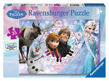CHILDRENS DISNEY FROZEN 35 PIECE JIGSAW PUZZLE RAVENSBURGER