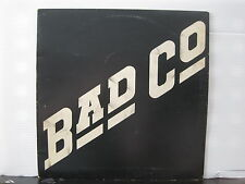 BAD COMPANY Bad Co 1974 UK ISLAND RECORDS VINYL LP A-1U/B-1U Free UK Post