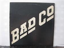 BAD COMPANY Bad Co 1974 UK ISLAND RECORDS VINYL LP A-1U/B-1U Free UK Post