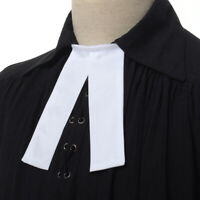 White Barrister Bands Barrister Tie Neckwear Preaching Bands Preaching Tabs
