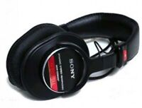 New Sony Professional studio monitor headphone MDR-CD900ST from Japan with track