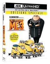 CATTIVISSIMO ME 3 (BLU-RAY 4K ULTRA HD + BLU-RAY) EDIZIONE SPECIALE MINIONS