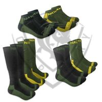 New Navitas Apparel Coolmax Ankle, Crew, Boot Socks - 2 pairs - Carp Fishing