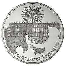 Pièce 10 euros argent - UNESCO - Château de Versailles - BE - 2011