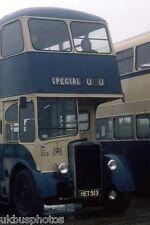 Rotherham Corporation Transport Preserved Crossley 213 1978 Bus Photo