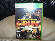 Need for Speed: The Run  Xbox 360 EUC FREE USA SHIPPING