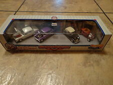 1998 MATTEL--HOT WHEELS--REGGIE'S CARS--4 CAR SET (NEW)