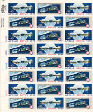1975 Apollo Soyuz Stamp Sheet - Pack of 100 Sheets