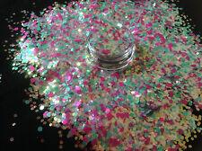 Mezcla de brillo hermoso arte en Uñas Acrílico y Gel Glaseado Azúcar para aplicaciones