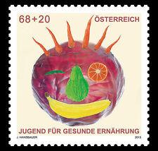 Oostenrijk 2015  gezondheid  fruit        postfris (MNH)
