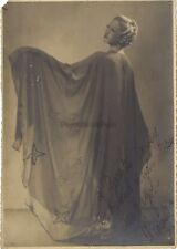 Photo studio Robe Mode Danse Actrice Danseuse Vintage Argentique ca 1930