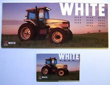 Lot of 2 White Farm Equipment Tractors Foldout Brochure Catalogs