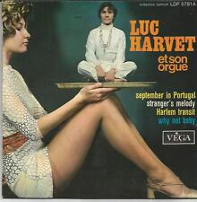 LUC HARVET ET SON ORGUE September in portugal EP VEGA 1970